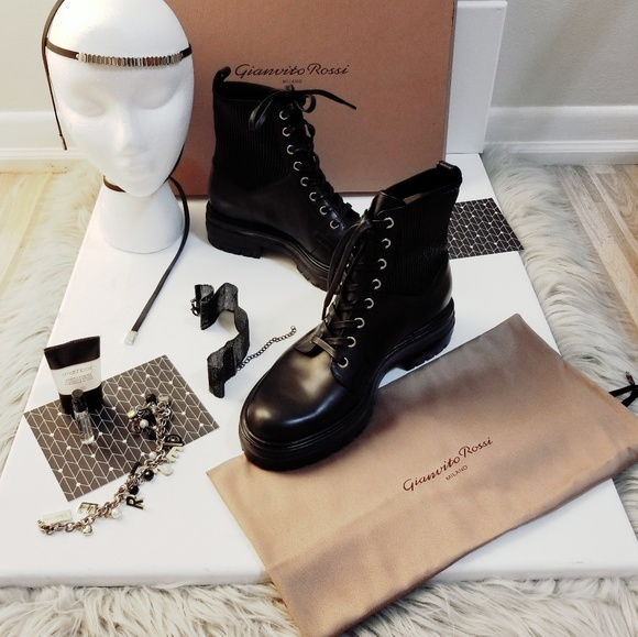 Gianvito Rossis Martis Combat Boots